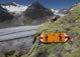 A0223 – Wanderwegweiser mit Gletscher im Hintergrund